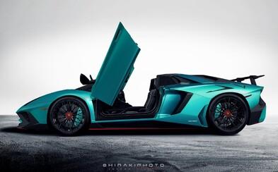 750-koňový Aventador SuperVeloce bez strechy vznikne v 500 kusoch a takto bude vyzerať!