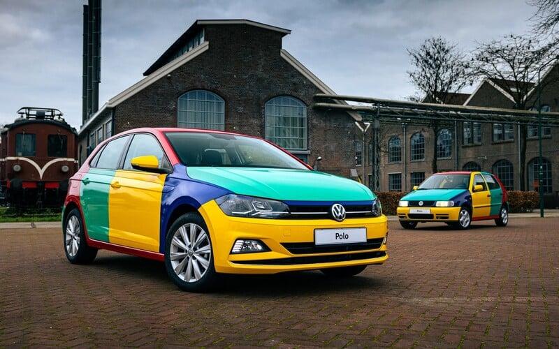 Slavné Polo Harlekin je zpět. Volkswagen oživil nečekaně úspěšný pestrobarevný kult z 90. let.