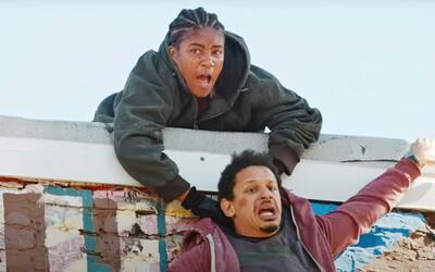 Vystřižené scény z komedie Bad Trip ukazují, jak herci napálili kněze či nepovedený vtip s Chrisem Rockem.