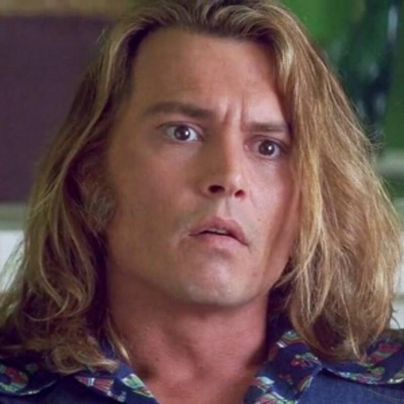 Johnny Depp vo filme: