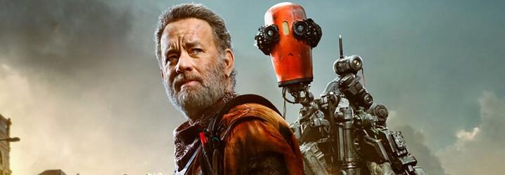 Tom Hanks si postavil milého robota, ktorý ho po apokalypse udrží pri živote. Sleduj trailer na emotívnu sci-fi drámu Finch