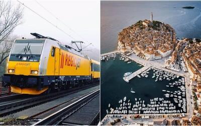 Žltý vlak premávajúci z Bratislavy do Chorvátska pre koronavírus ruší jednu zástavku. VSlovinsku zastavovať nebude.