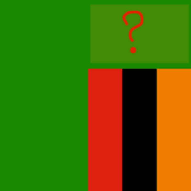 Čo má Zambia vo vlajke?
