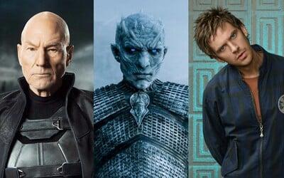 Professor X sa objaví v poslednej sérii Legion a nový Game of Thrones seriál sa začne natáčať už v lete