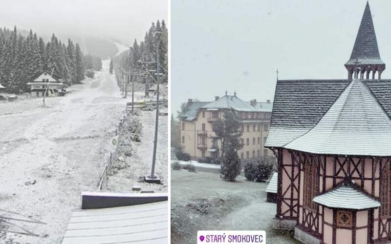 Zasnežené Slovensko: Dnes napadol v týchto regiónoch prvý sneh.