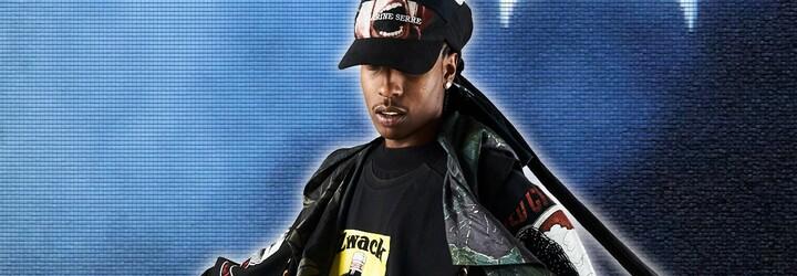 Takto vypadá A$AP Rocky v pánských šatech ze společné kolekce AWGE x Marine Serre