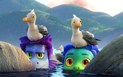 Film Luca je o čarovných vodných bytostiach, ktoré sa na súši premenia na ľudí. Animák s príchuťou talianskej riviéry ťa očarí