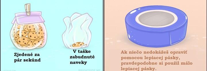 Stolička miesto skrine alebo strácanie ponožiek: Platia tieto zábavne ilustrované domáce pravidlá aj na teba?
