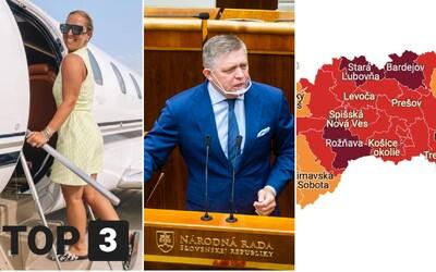 TOP 3 vo štvrtok: Podľa Fica je lepšie byť mafián ako plagiátor, otec tenistky sľubuje 100-tisíc a Stará Ľubovňa je na tom zle