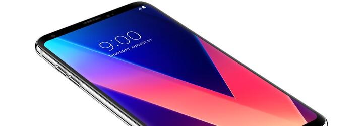 Smartfón V30 od LG dostal krásny OLED displej s tenkými rámikmi. Hanbiť sa však nemusí ani za fotky či audio
