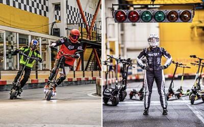 V Bratislave sa uskutočnia preteky elektrických kolobežiek. Jazdci vraj pôjdu rýchlosťou aj takmer 100 km/h.
