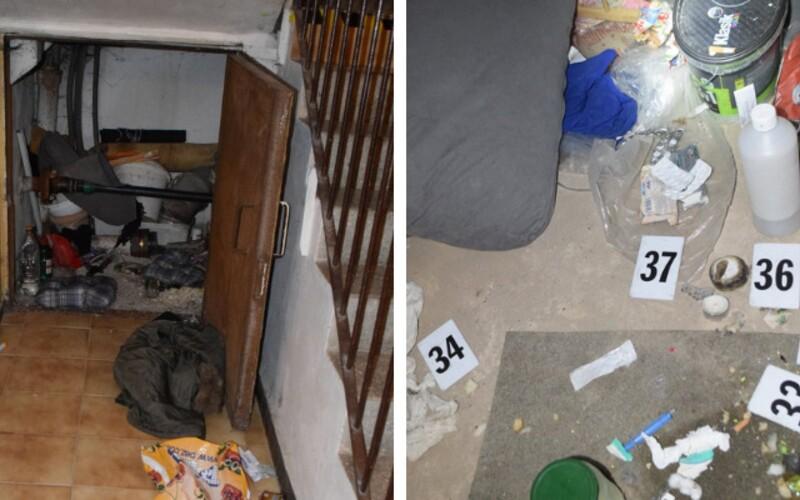 V Považskej Bystrici muž vyrábal drogy priamo pod schodiskom bytového domu. Spôsobil požiar v blízkosti uzáveru plynu.