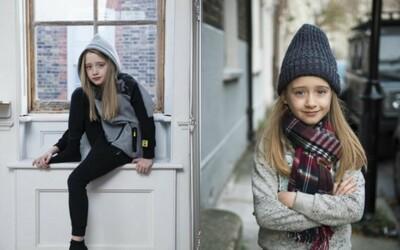 7letá dívka napsala do Zary, zda může pózovat pro chlapeckou kolekci. Nenávidí šaty a stylem strčí do kapsy všechny vrstevnice