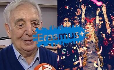 80-ročný Španiel odchádza na Erasmus. Dôchodcu čakajú študentské párty aj nová kultúra vďaka tomu, že po infarkte opäť našiel chuť do života