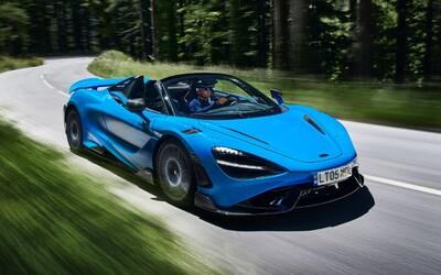 Najvýkonnejší a najrýchlejší McLaren bez strechy nesie názov 765LT Spider, zvládne až 330 km/h
