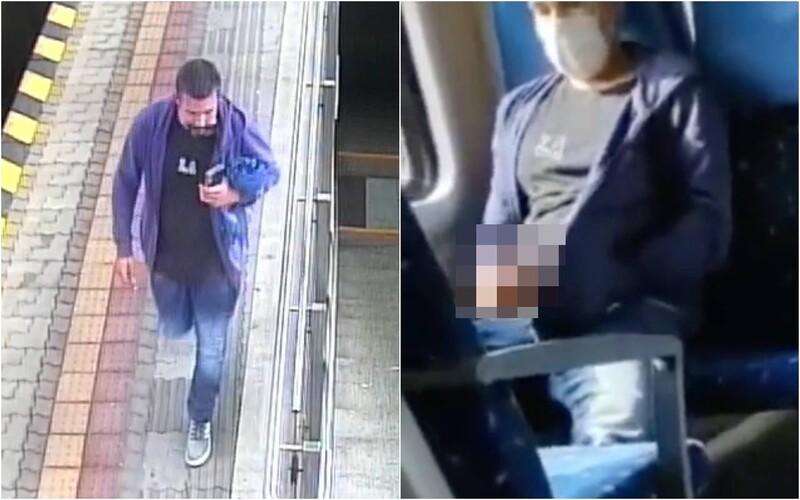 VIDEO: Muž si vo vlaku vytiahol penis a onanoval pred dievčaťom. Polícia žiada o pomoc pri jeho pátraní.