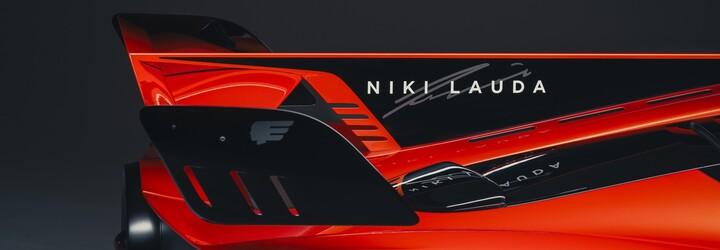 735koňový supersport T.50s Niki Lauda vzdává hold zesnulé legendě F1