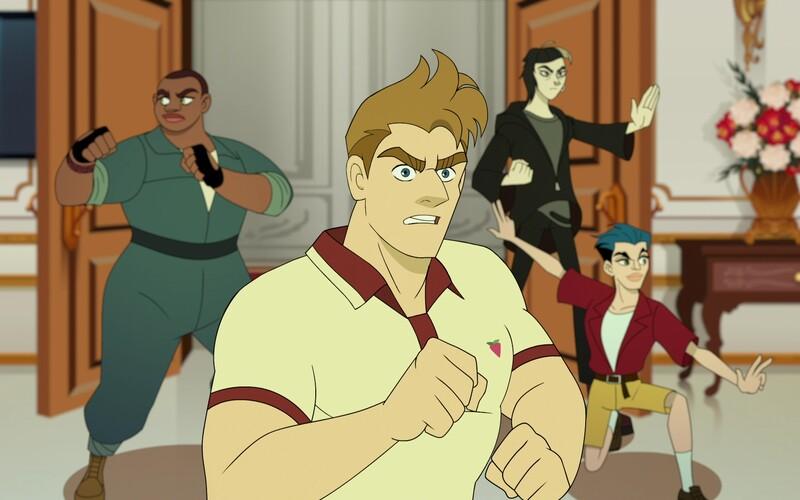 Q-Force je superhrdinský tím plný gayov a lesbičiek. Ak ti neprekážajú homosexuálne vtipy, slušne ťa pobaví.