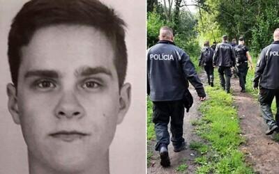 Po 22-ročnom Miroslavovi v okolí Kremnice pátrajú desiatky policajtov. Pri hľadaní využívajú aj dron.