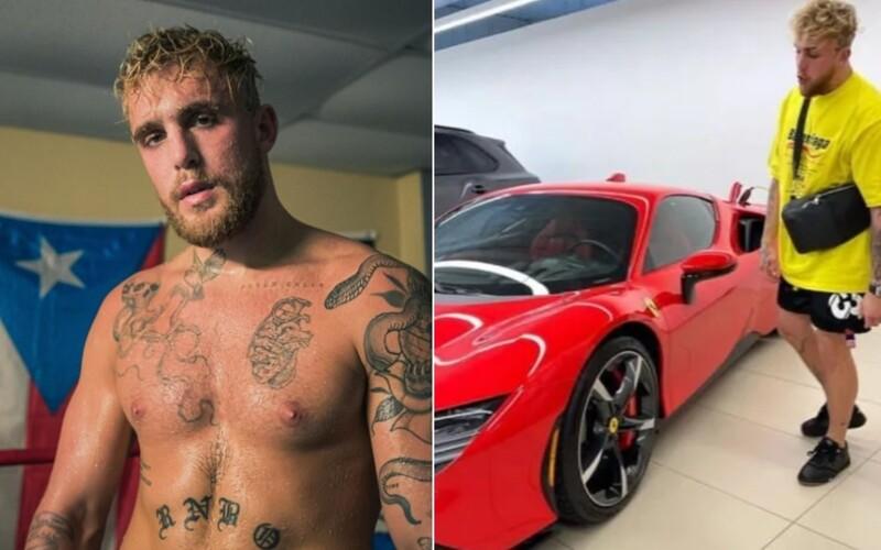Jake Paul se chlubí dvěma Ferrari. Tyto luxusní modely patří slavnému youtuberovi.