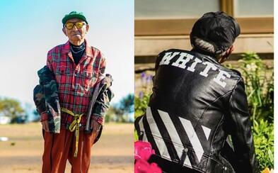 84letý dědeček nosí oblečení za desítky tisíc korun. Kreativní outfity si Instagram zamiloval