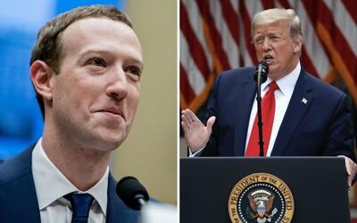 Zaměstnanci Facebooku protestují. Žádají, aby firma zakročila proti Trumpovým statusům a výhrůžkám.