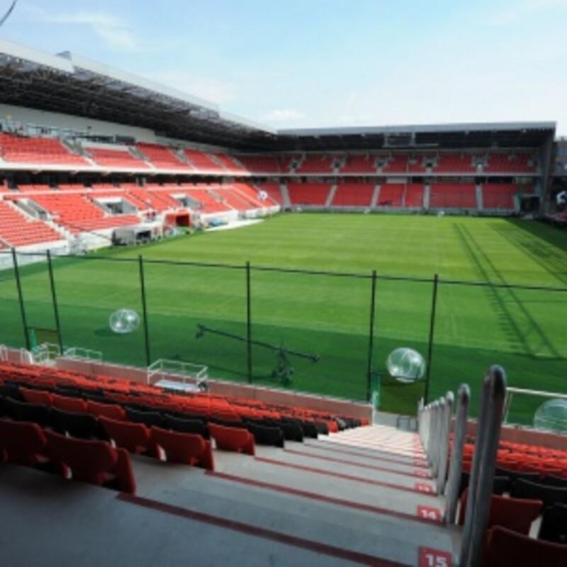 Štadión Antona Malatinského City Arena Trnava má kapacitu viac ako 40 000 miest