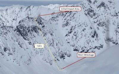Nové zprávy o Kellnerově nehodě: V kabině vrtulníku nehořelo, pilot před nárazem manévroval nad horským hřebenem.