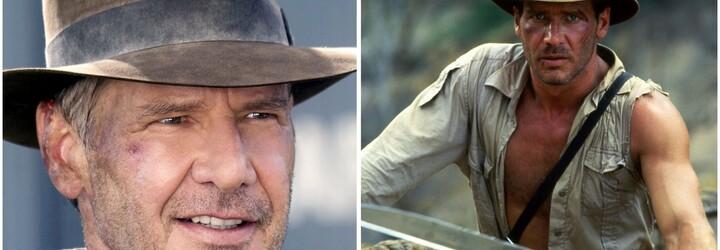 Harrison Ford už natáča Indianu Jonesa 5. Na pľaci sa objavil aj kaskadér v maske herca ako z Mission: Impossible
