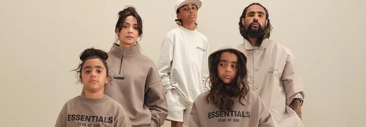 Jerry Lorenzo oblečie do novej kolekcie Fear of God ESSENTIALS celú tvoju rodinu