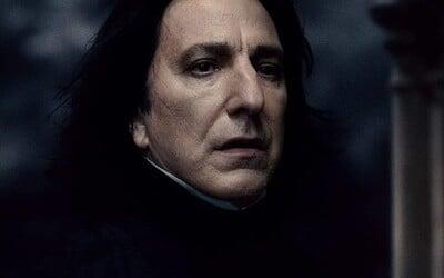 Konečne vieme, odkiaľ pochádza meno Severus Snape. J. K. Rowling prezradila, kde našla inšpiráciu.
