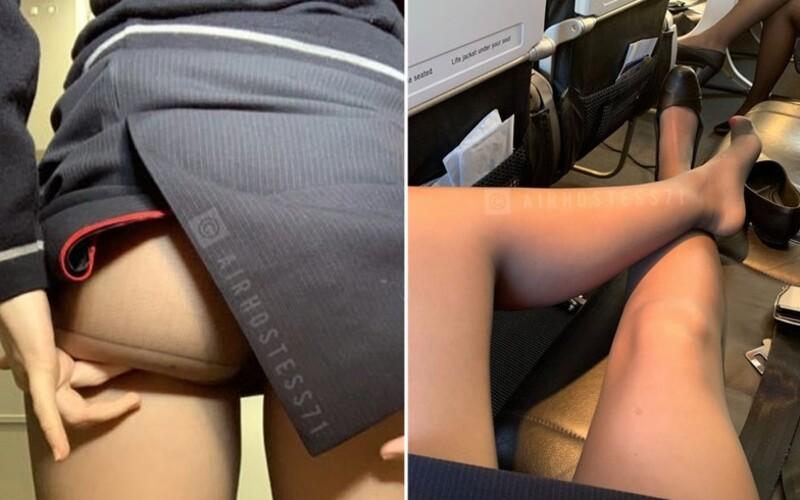 Tajomná letuška vraj ponúka sex na palube medzi letmi. Obnažené fotky prinútili British Airways začať vyšetrovanie.