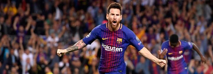 Kapesník, kterým si Messi při loučení s Barcelonou otíral slzy, je na prodej. Stojí přes 20 milionů korun
