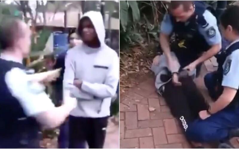 Australský policista při zatýkání skopal chlapce z domorodé komunity. Lidé ho označují za rasistu.