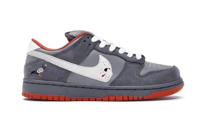 Falešné Nike Dunks, které požehnal Jeff Staple. Lidé si mohou objednat padělek žádaného modelu, který není od Nike.