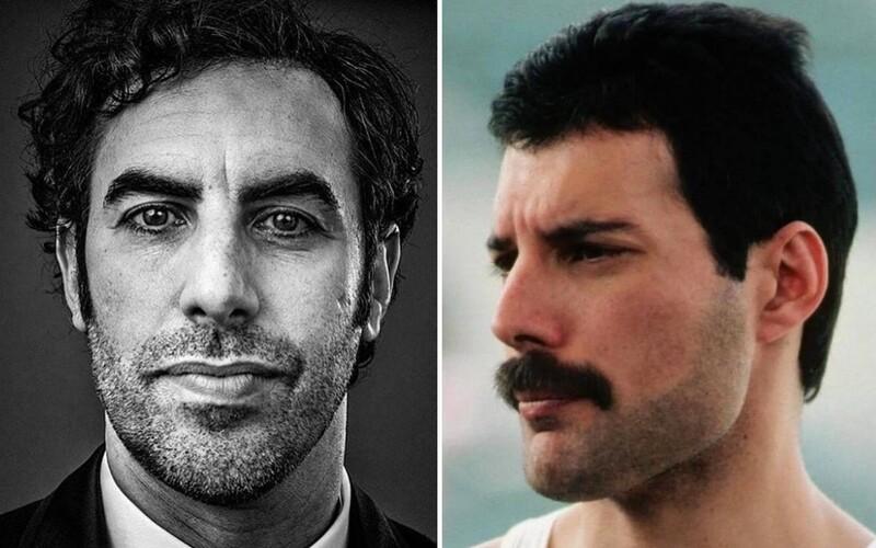 Sacha Baron Cohen toužil ztvárnit Freddieho Mercuryho. Režisér David Fincher tvrdí, že v této roli vypadal velkolepě.