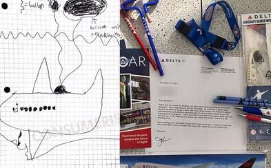 8-ročný chlapec vymyslel zlepšovák do lietadiel a Delta nad ním porozmýšľa. Chce uľahčiť lokalizáciu stratených lietadiel