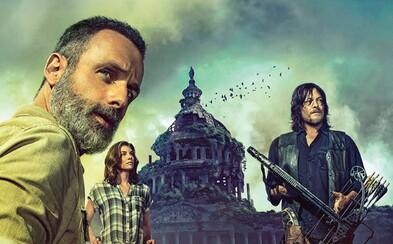 9. séria The Walking Dead dostáva prvý obrázok a naznačuje cestu do Washingtonu. Dočkáme sa v príbehu časového skoku?