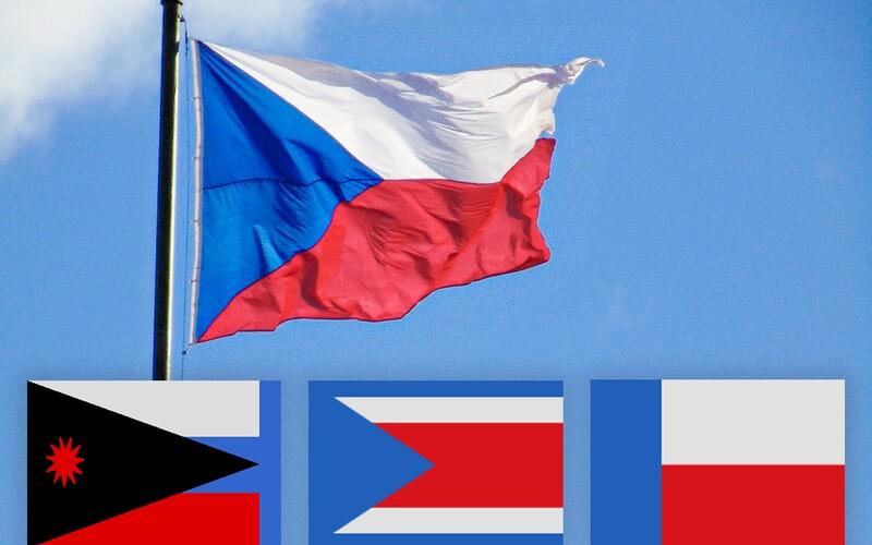 Česká vlajka slaví sto let. Původní návrhy ale vypadaly úplně jinak.