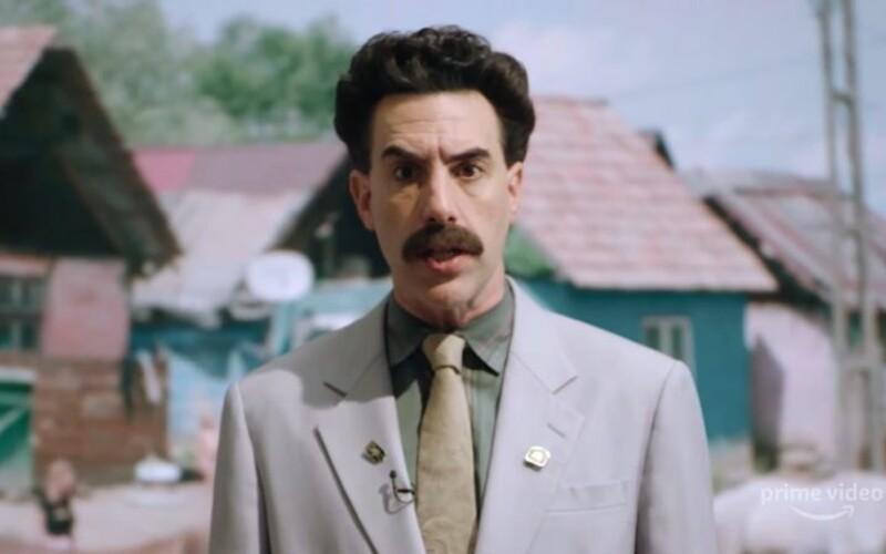 Borat 2 dostane spoustu nových scén, které tvůrci nedali do filmu. Bude to stejně šílené jako posledně.