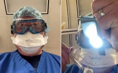 Toto uvidíš, keď budeš zomierať na Covid-19. Srdcervúce video lekára ukazuje utrpenie, ktoré spôsobuje koronavírus, ak ignoruješ opatrenia.