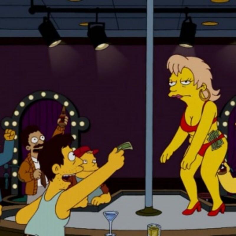 Ako sa volá striptízový brloh v Springfielde?