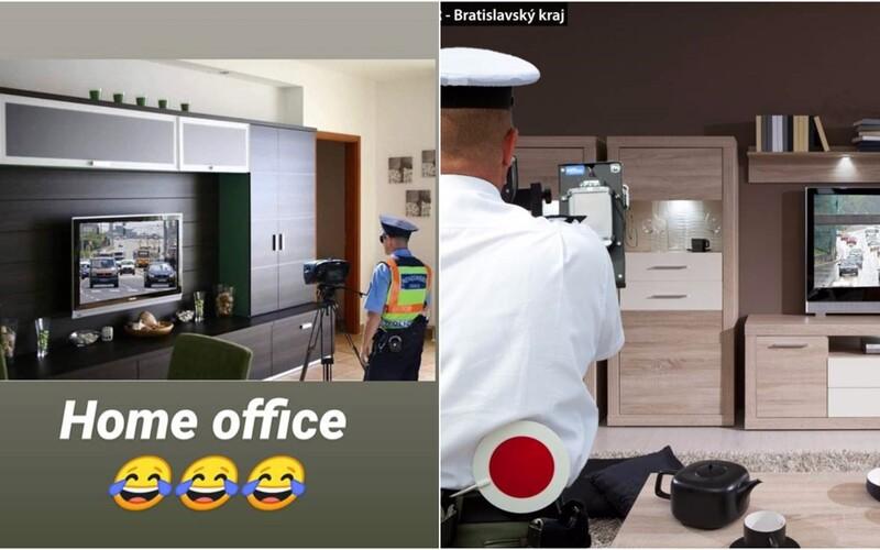 Slovenská polícia musela ubezpečiť vodičov, že nemerajú rýchlosť z obývačky. Internet totiž ovládol hoax.