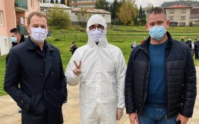 V sobotu otestovala armáda a zdravotníci vyše 50-tisíc ľudí z Oravy a Bardejova. Odhalili 1 860 infikovaných.