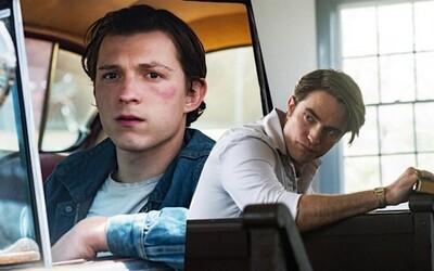 Tom Holland v The Devill All the Time jde po krku tajemného kněze Roberta Pattinsona. Netflix vydává drama se strhujícím trailerem.