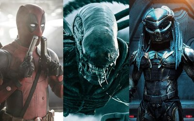 Deadpool, Votrelec aj Predátor budú pokračovať R-kovými filmami aj pod krídlami Disney
