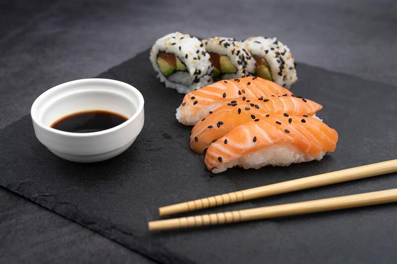 Pre ktorú krajinu je charakteristické sushi?