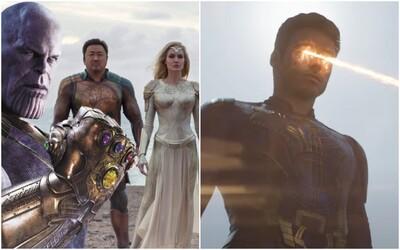 Eternals v traileri vysvetlia, prečo nebojovali proti Thanosovi. Jeden z nich je v podstate marvelovský Superman