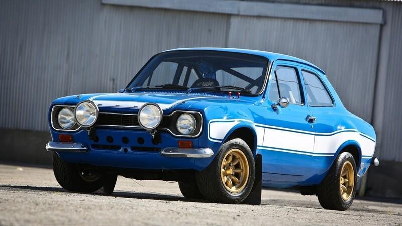 V ktorom filme sa prvýkrát objavil 1970 Ford Escort Mk I?
