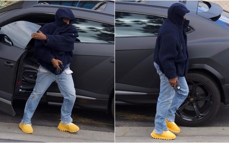 Kanye West mal obuté nové bizarné Yeezy. Ľudia sa z nich smejú, vraj pripomínajú skôr pečivo, než obuv.